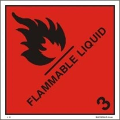 Picture of FLAMMABLE LIQUID 25x25 (IMO 3)