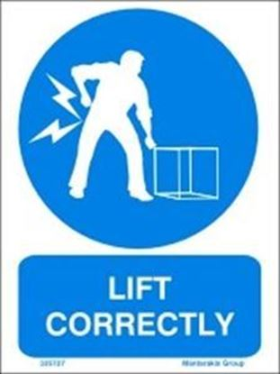 Picture of LIFT CORRECTLY