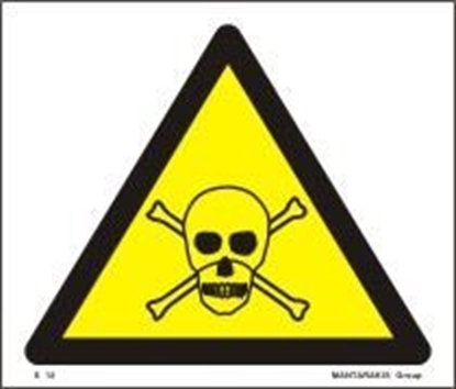 Picture of CAUTION TOXIC 17Χ20 S12