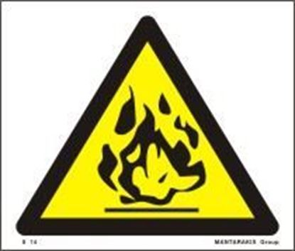 Picture of FLAMMABLE 17Χ20 S14