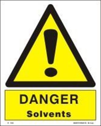 Picture of DANGER SOLVENTS   20x25