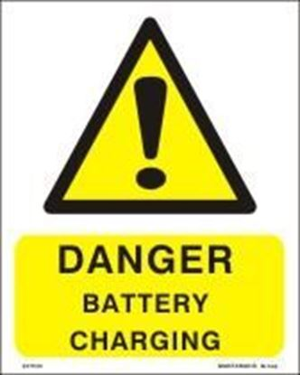 Picture of DANGER BATTERY CHARGING  20x25