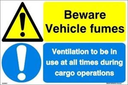Picture of BEWARE VEHICLE FUMES