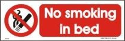 Picture of NO SMOKING IN BED 10X30