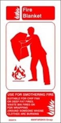 Εικόνα της FIRE BLANKET INSTR. 10X20