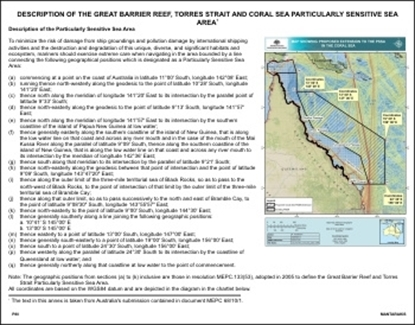 Picture of NEAREST LAND POSTER (MARPOL 73/78 & AUSTRALIA)