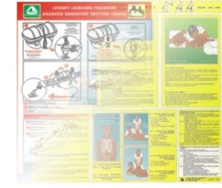 Снимка за категория Морски Инструкции за безопасност и спасяване на борда