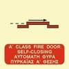 Снимка на A CLASS SELF-CLOSING FIRE DOOR SIGN   15x15