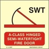 Picture of A-CLASS HINGED SEMI-WATERT.FIRE DOOR 15X15