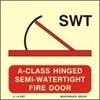 Снимка на A-CLASS HINGED SEMI-WATERTIGHT FIRE DOOR 15X15