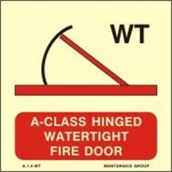 Εικόνα από A-CLASS HINGED WATERTIGHT FIRE DOOR 15X15