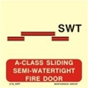 Picture of A-CLASS SLIDING SEMI-WATERT.FIRE DOOR 15X15