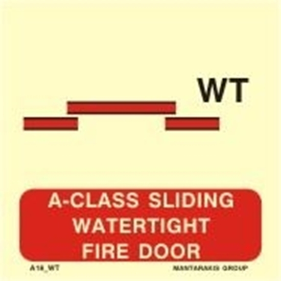 Picture of A-CLASS SLIDING WATERTIGHT FIRE DOOR 15X15
