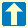 Εικόνα από ARROW STRAIGHT SIGN    15x15   BLUE (ΑΥΤΟΚΟΛΛΗΤΟ)
