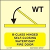 Снимка на B-CLASS HINGED SELF-CLOS.WATERT.FIRE DOOR 15X15