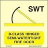 Εικόνα από B-CLASS HINGED SEMI-WATERTIGHT FIRE DOOR 15X15
