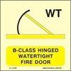 Εικόνα από B-CLASS HINGED WATERTIGHT FIRE DOOR 15X15