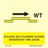 Снимка на B-CLASS SELF-CLOS.SLID.WATERT.FIRE DOOR 15X15