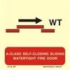 Εικόνα από B-CLASS SELF-CLOS.SLIDING WATERT.FIRE DOOR 15X15