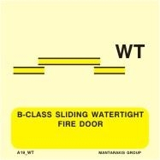 Picture of B-CLASS SLIDING WATERTIGHT FIRE DOOR 15X15