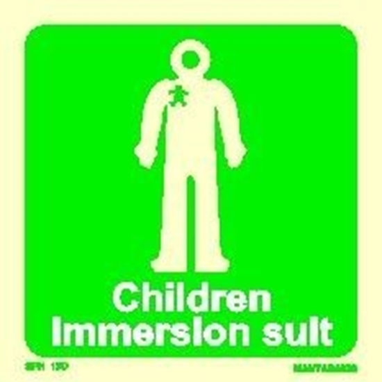Εικόνα από CHILDREN IMMERSION SUIT 15X15