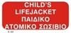 Снимка на CHILD'S LIFEJACKET SIGN   10x20