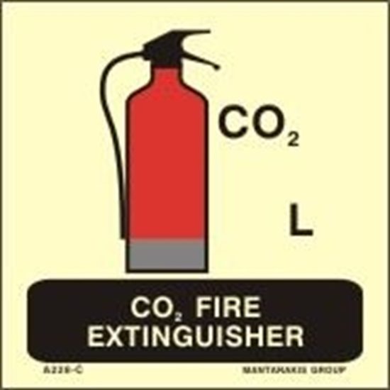 Снимка на CO2 FIRE EXTINGUISHER 15X15