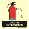 Picture of CO2 FIRE EXTINGUISHER 15X15