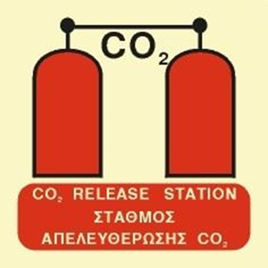Εικόνα από CO2 RELEASE STATION SIGN    15x15