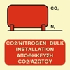 Picture of CO2/NITROGEN BULK INSTALLATION SIGN   15x15