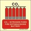 Снимка на CO2/NITROGEN FIXED FIRE EXTINGUIS.BATTERY 15X15