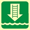 Picture of EMBARKATION LADDER SIGN 15X15