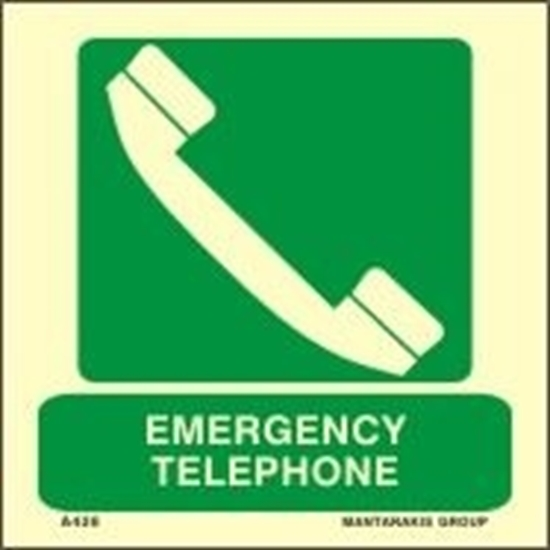 Εικόνα από EMERGENCY TELEPHONE 15X15