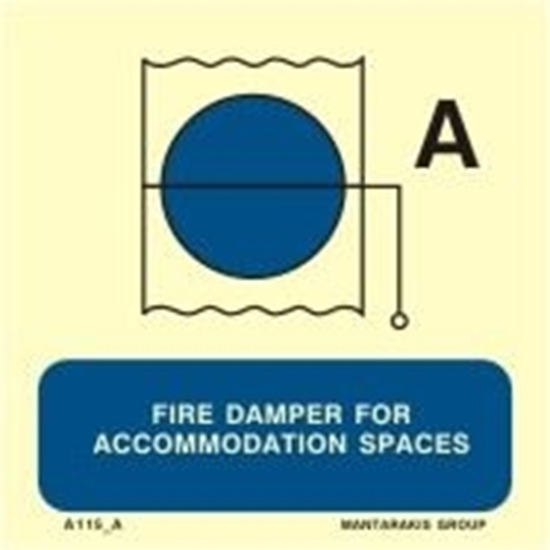 Снимка на FIRE DAMPER FOR ACCOMMOD.SPACES 15X15