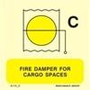 Εικόνα από FIRE DAMPER FOR CARGO SPACES 15X15