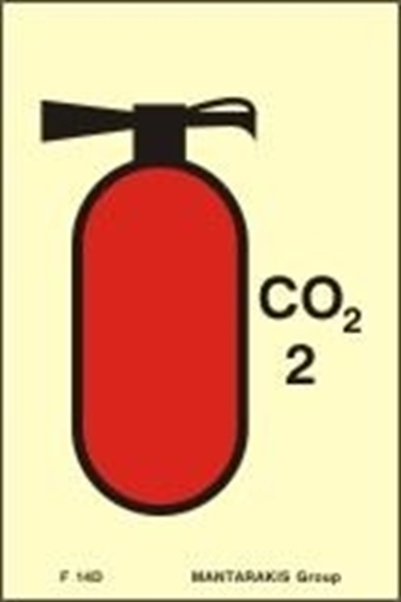 Picture of FIRE EXTINGUISHER CO2 6.8 15X10