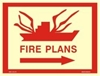 Picture of FIRE PLANS-RIGHT ARROW 30X40