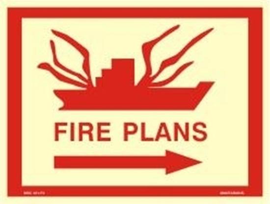 Εικόνα από FIRE PLANS-RIGHT ARROW 30X40
