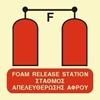 Снимка на FOAM RELEASE STATION SIGN   15x15
