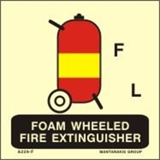 Снимка на FOAM WHEELED FIRE EXTINGUISHER 15X15