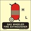 Εικόνα από GAS WHEELED FIRE EXTINGUISHER 15X15