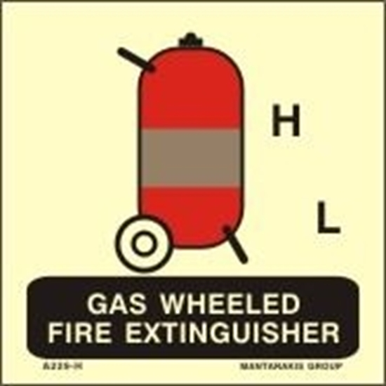 Picture of GAS WHEELED FIRE EXTINGUISHER 15X15