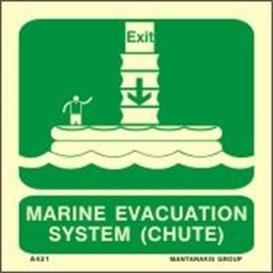 Picture of MARINE EVACUATION SYSTEM (CHUTE)    15x15
