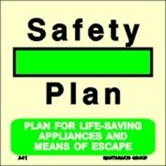 Picture of PLAN FOR LIFE-SAV.APPL.AND MEANS OF ESCAPE 15X15