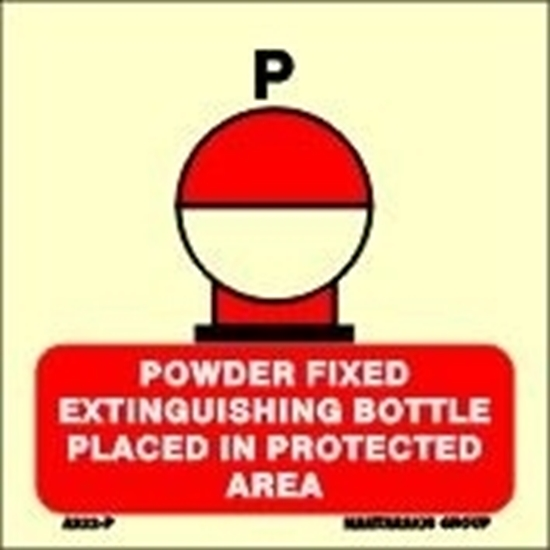 Снимка на POWDER FIXED EXTING.BOT.PLAC.IN PROT.AREA 15X15