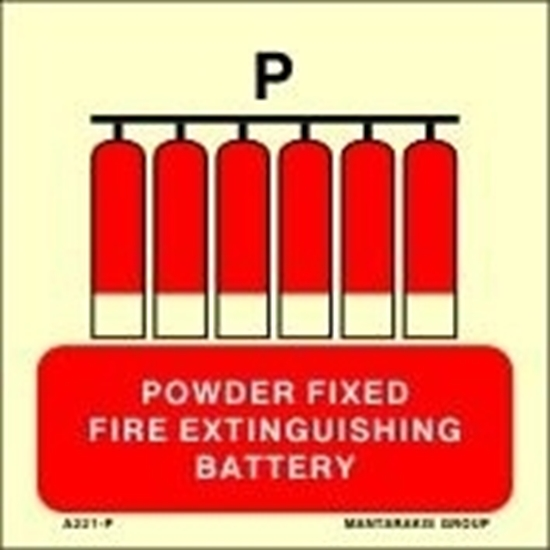 Picture of POWDER FIXED FIRE EXTINGUISHING BATTERY 15X15