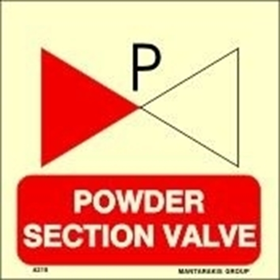 Picture of POWDER SECTION VALVE 15X15