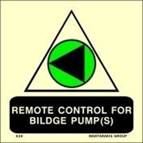 Снимка на REMOTE CONTROL FOR BILDGE PUMP(S) 15X15