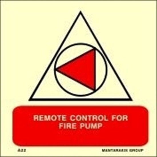 Picture of REMOTE CONTROL FOR FIRE PUMP 15X15