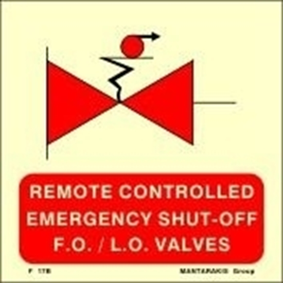 Picture of REMOTE CONTROLLED EMERGENCY SHUT-OFF F.O./L.O.VALV